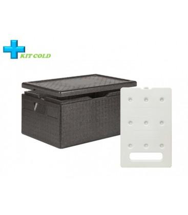 Kit froid - 1 Conteneur 46L + 1 plaque froide 4KG