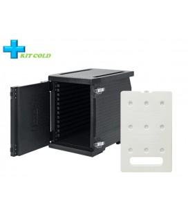 Kit froid - 1 Conteneur Frontal 93L + 1 plaque froide 4KG