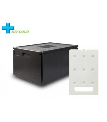 Kit froid - 1 Conteneur 80L + 1 plaque froide 4KG