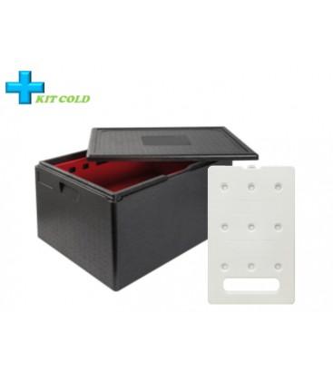 Kit froid - 1 Conteneur 105L + 1 plaque froide 4KG