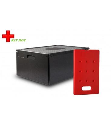 Kit froid - 1 Conteneur 80L + 1 plaque chaude 4KG