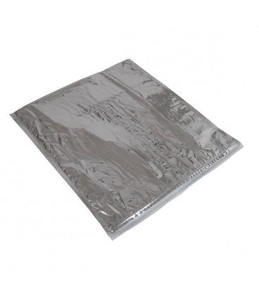 100 Pochettes isothermes avec zip 32 x 35 cm