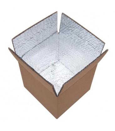 Carton isotherme 25x25x25 cm